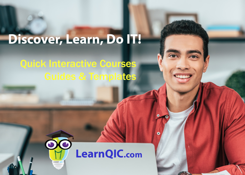 LearnQIC School Online Courses and Resources