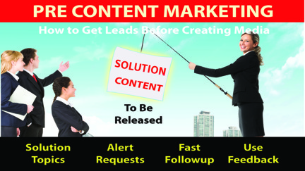 Pre-Content Marketing Course