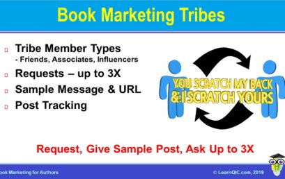 Book Marketing Tip: Marketing Tribes
