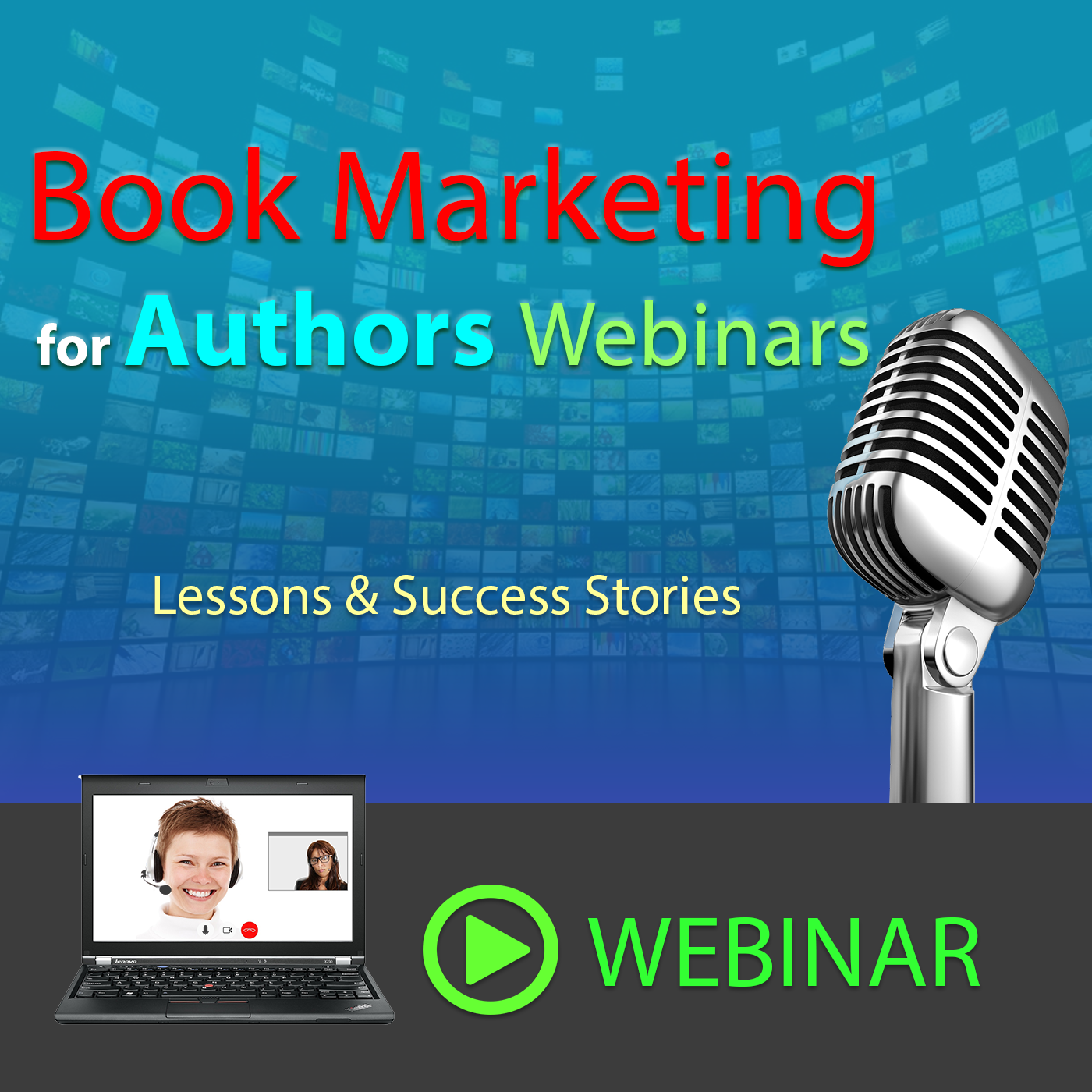 Book Marketing Webinars