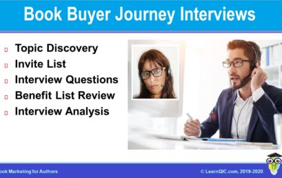Book Buyer Journey Interviews