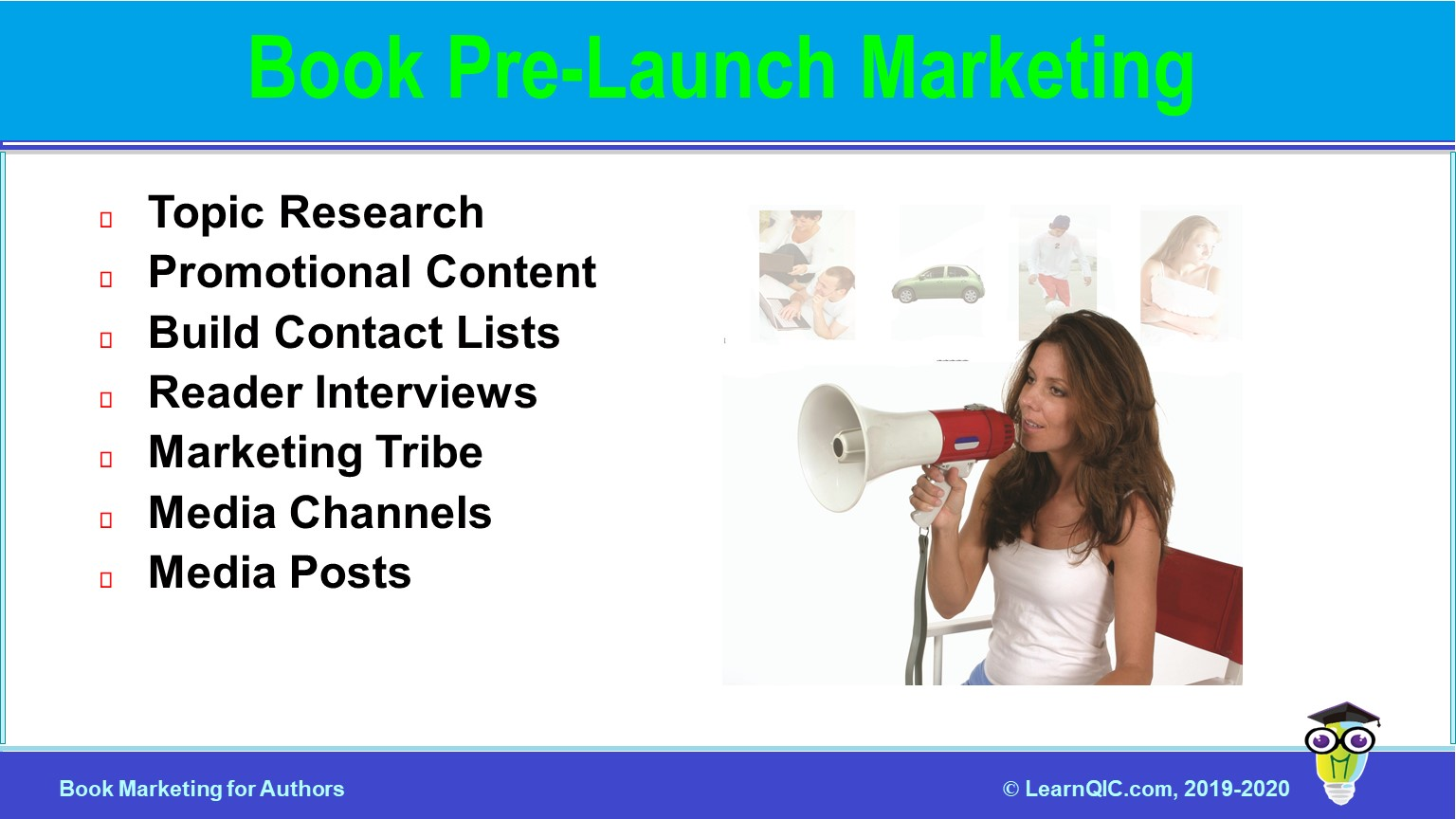 Book Pre-Launch Marketing
