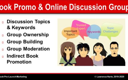 Book Promotion and Online Discussion Groups