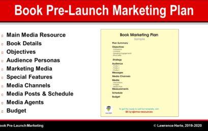 Book Pre-Launch Marketing Plan