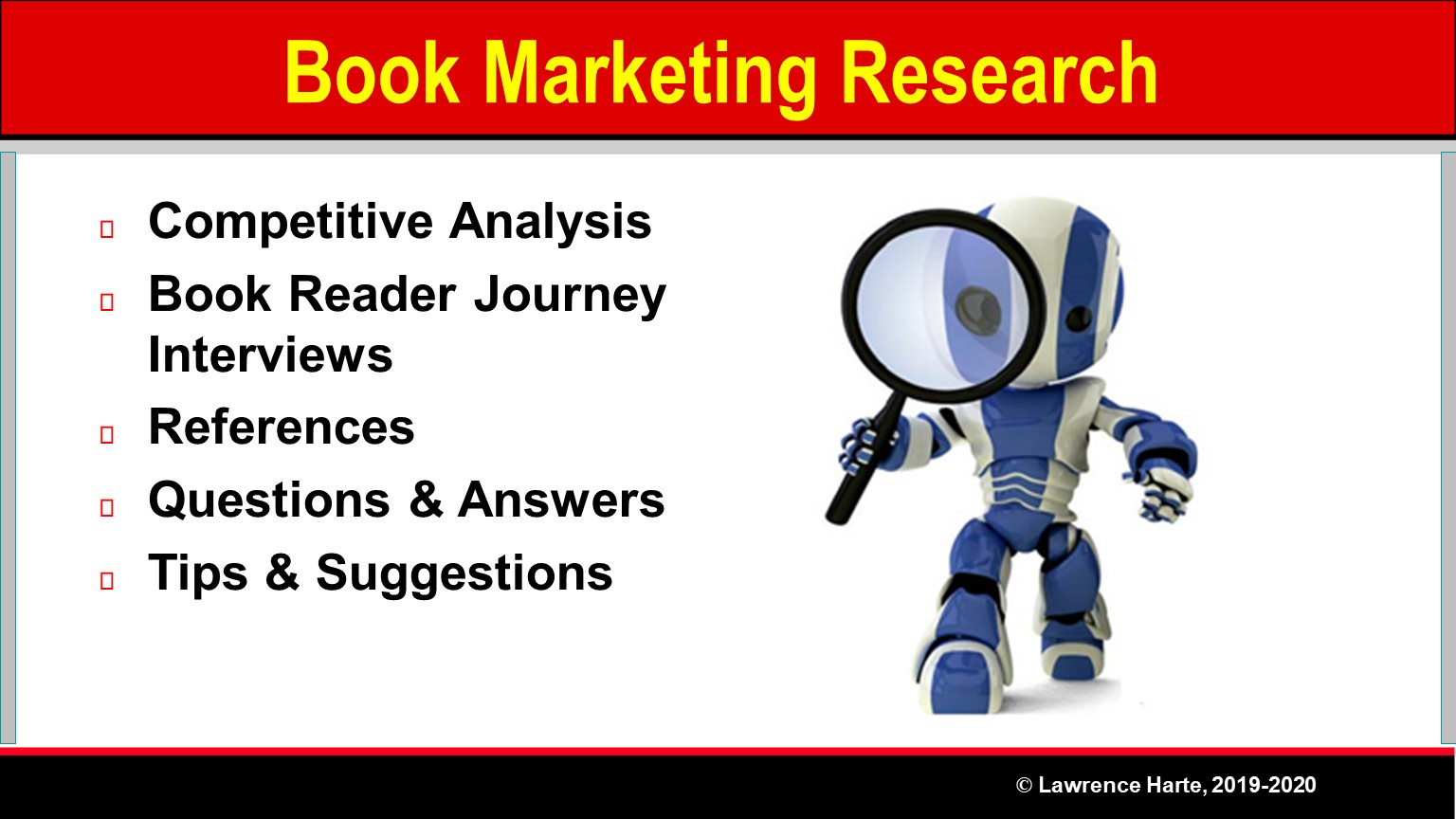Book Pre-Launch Marketing Research