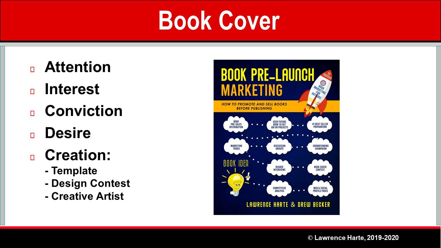 Book Pre-Launch Marketing Cover Design