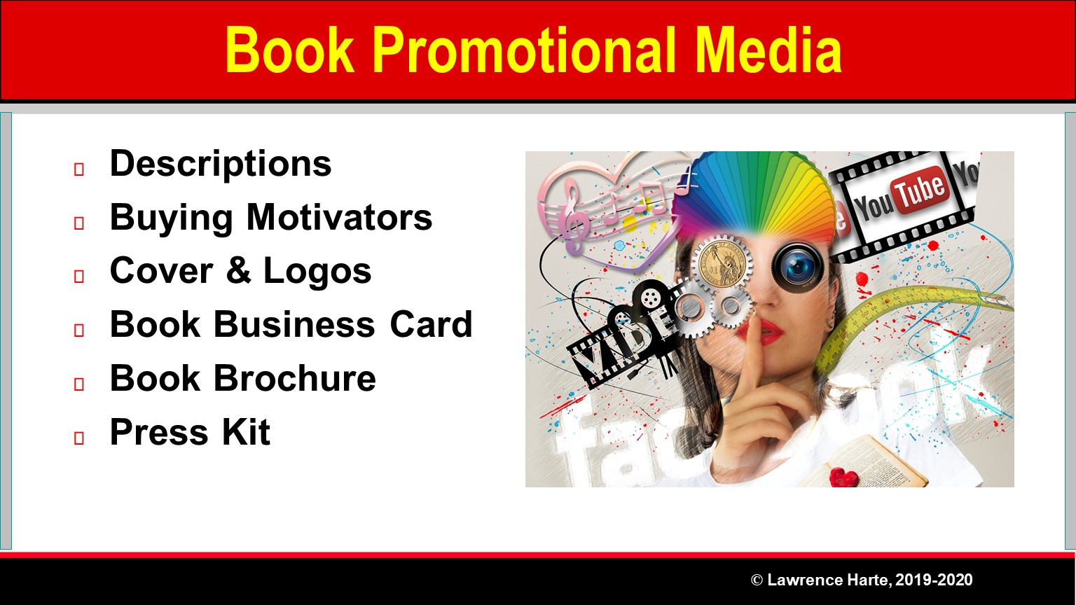 Book Pre-Launch Marketing Promotional Media