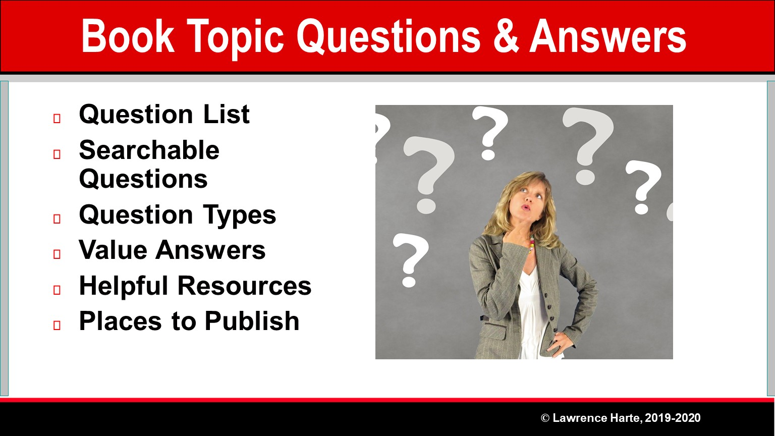 Book Pre-Launch Marketing Book Topic Questions and Answers