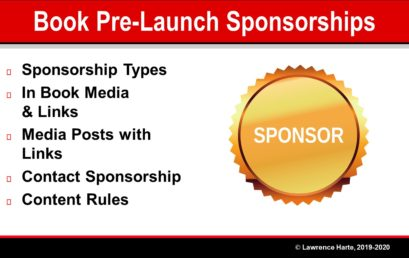 Book Pre-Launch Marketing Sponsorships