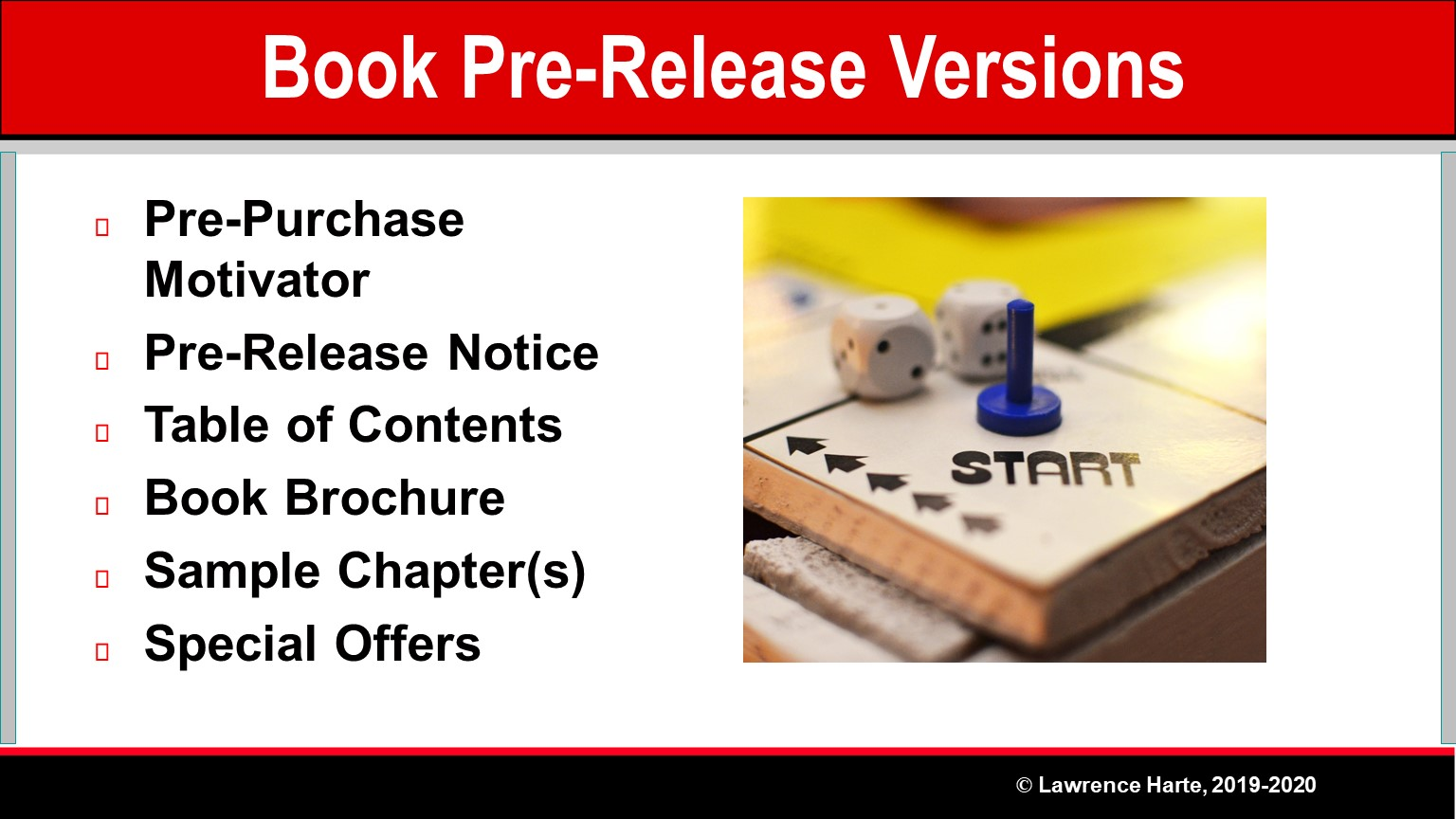 Book Pre-Launch Marketing Pre-Release Versions