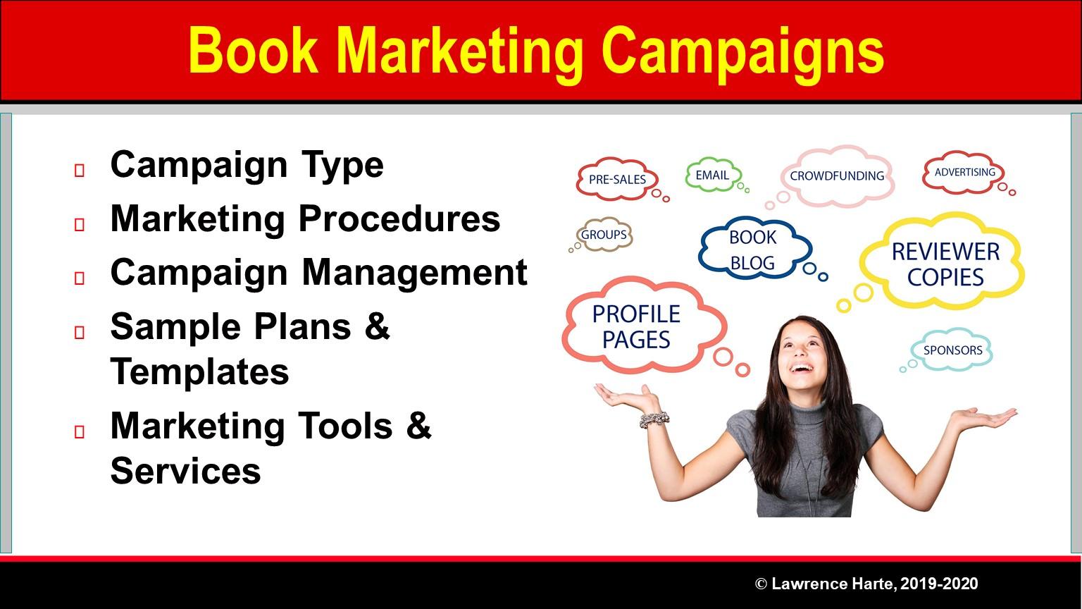 Book Pre-Launch Marketing Campaigns