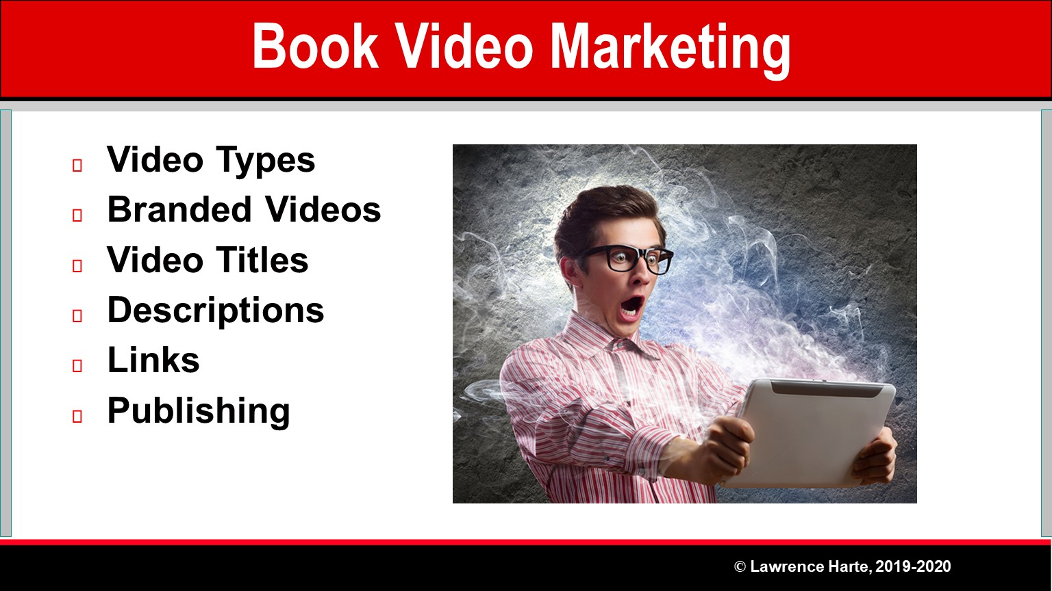 Book Pre-Launch Marketing Video Promotion