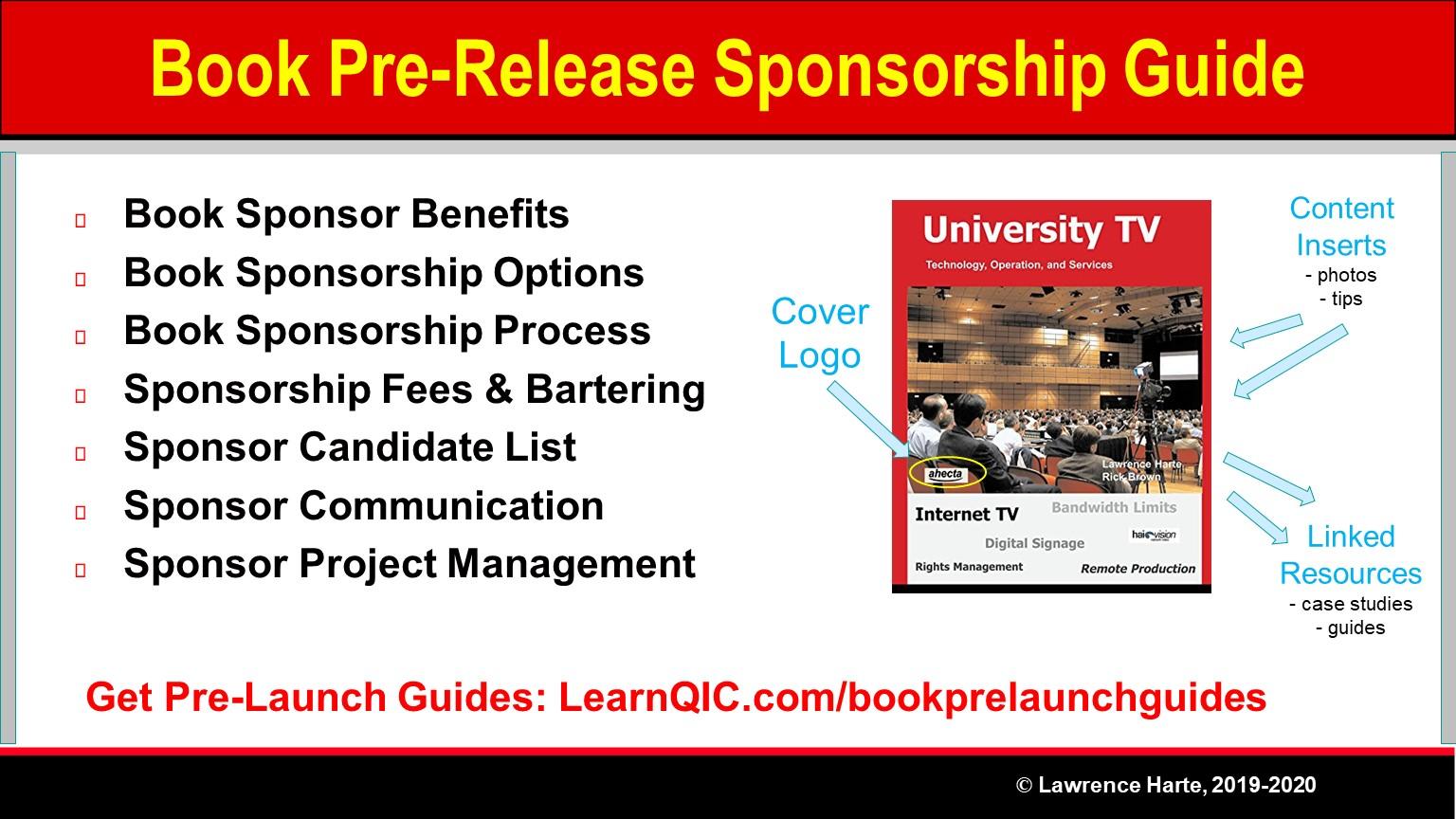 Book Pre-Launch Sponsorships Guide