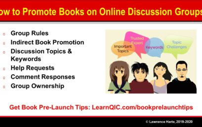How to Promote Books on Online Discussion Groups?