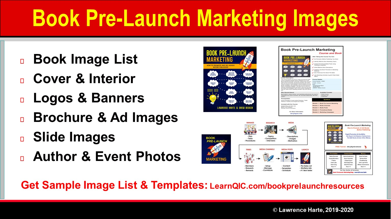 Key Book Pre-Launch Marketing Images