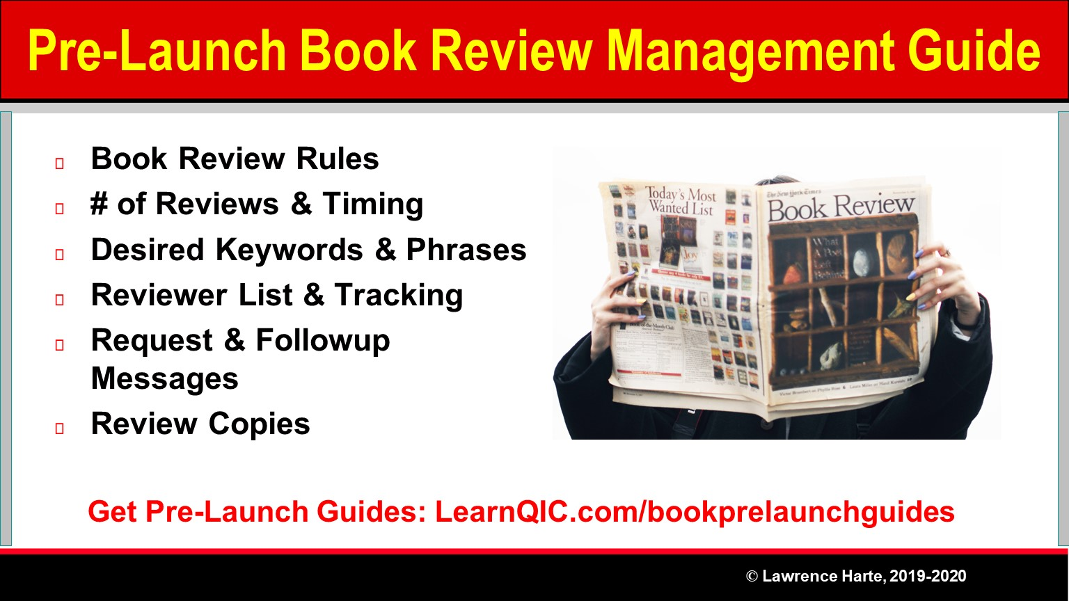 Steps to Get Pre-Launch Book Reviews