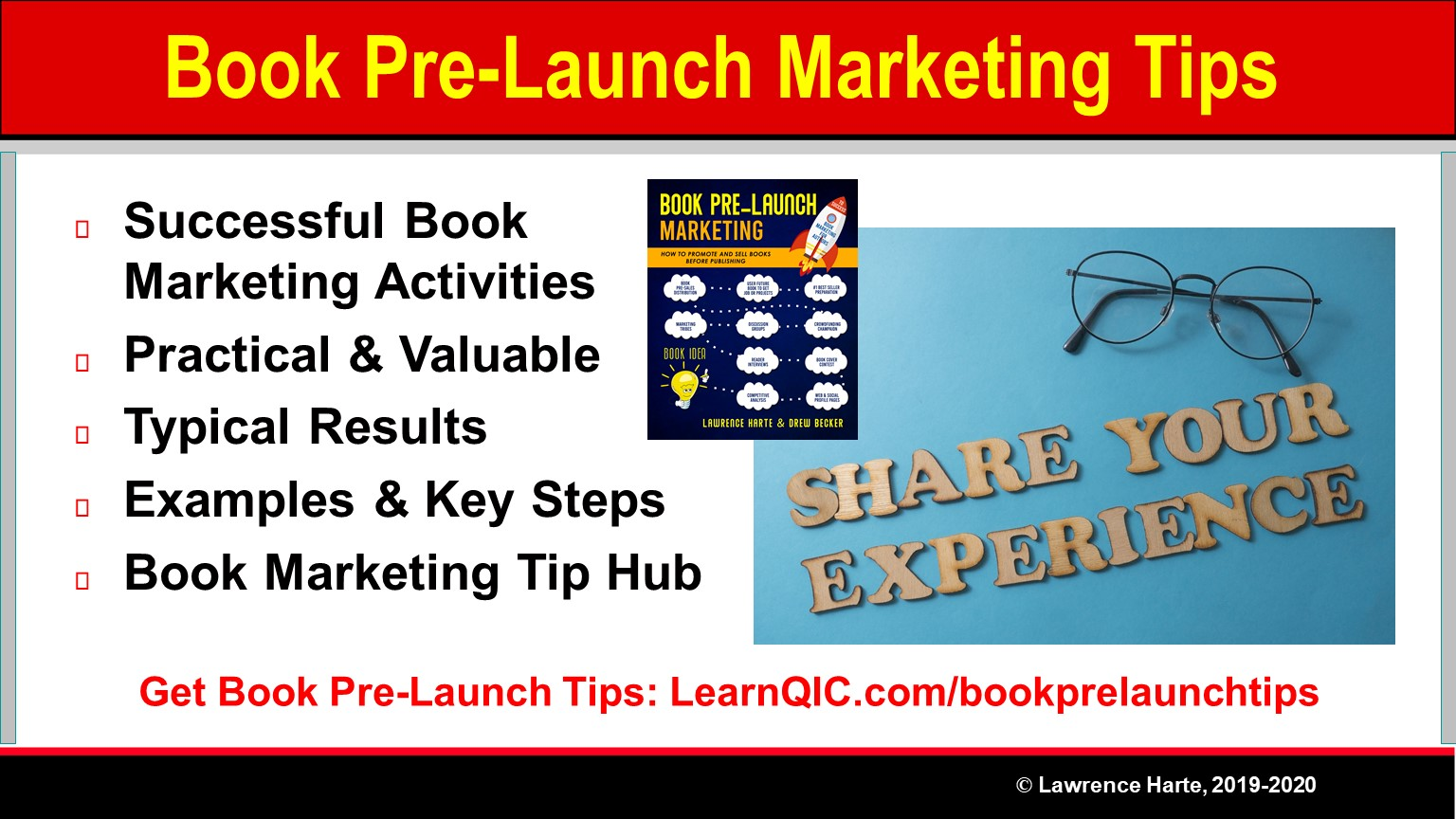 Book Pre-Launch Marketing Tips